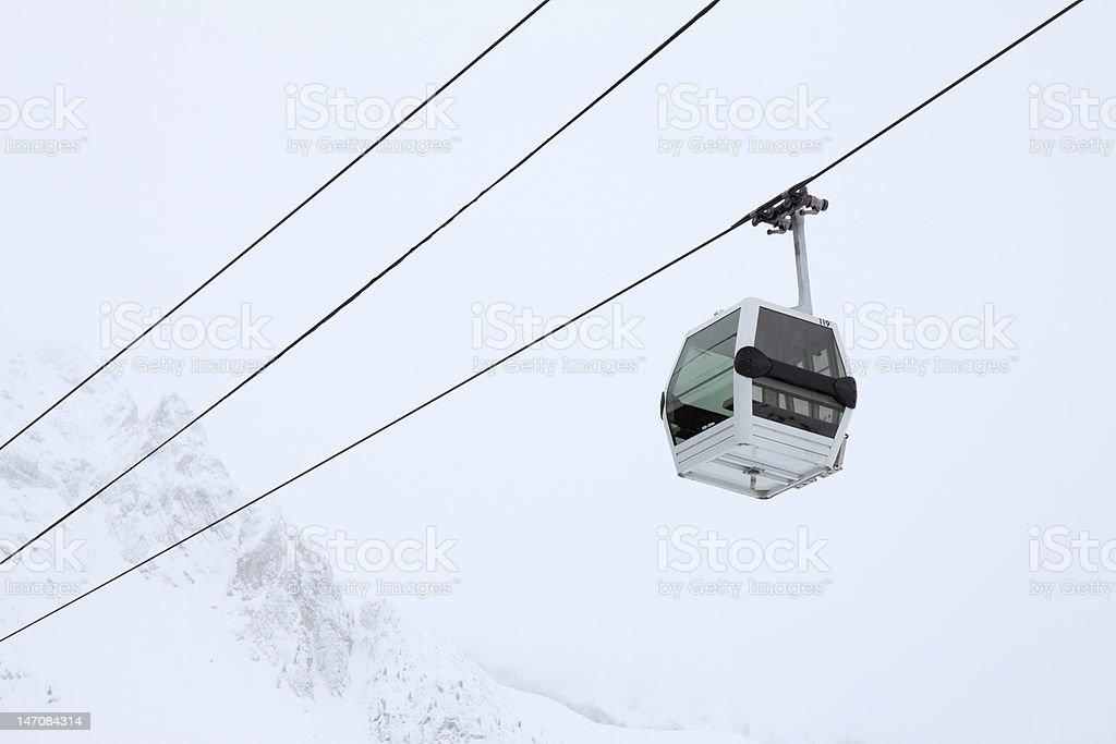 Gondola Lift royalty-free stock photo