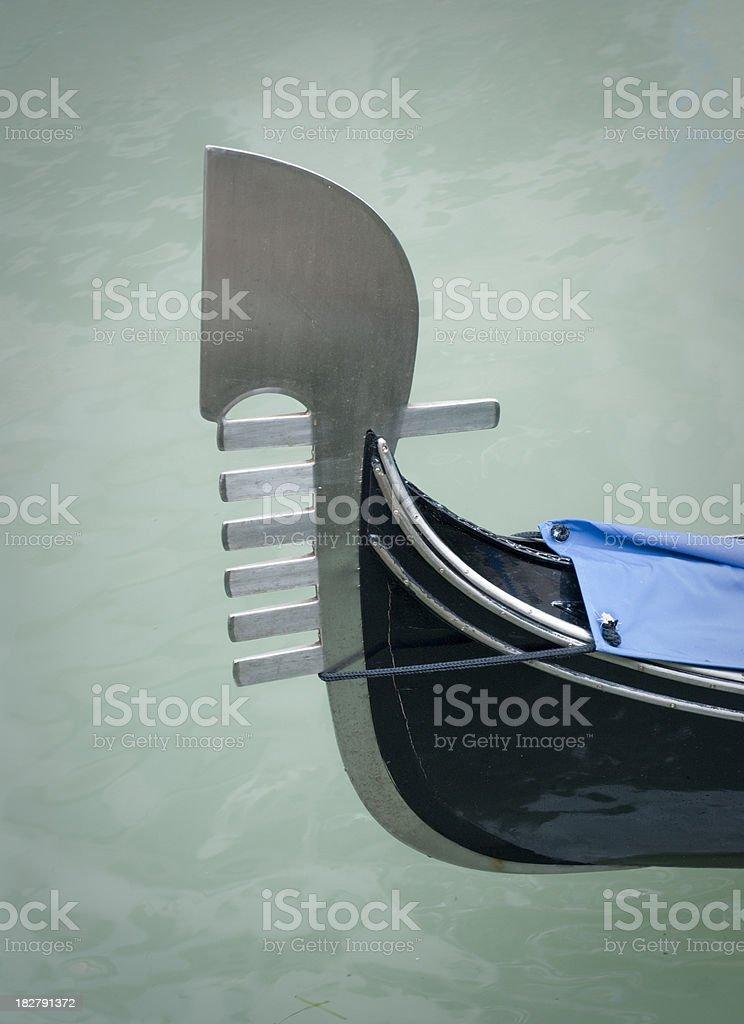 Gondola (Venice) royalty-free stock photo