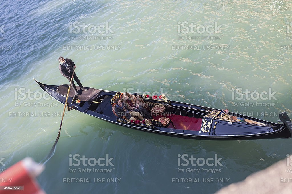 Gondola royalty-free stock photo