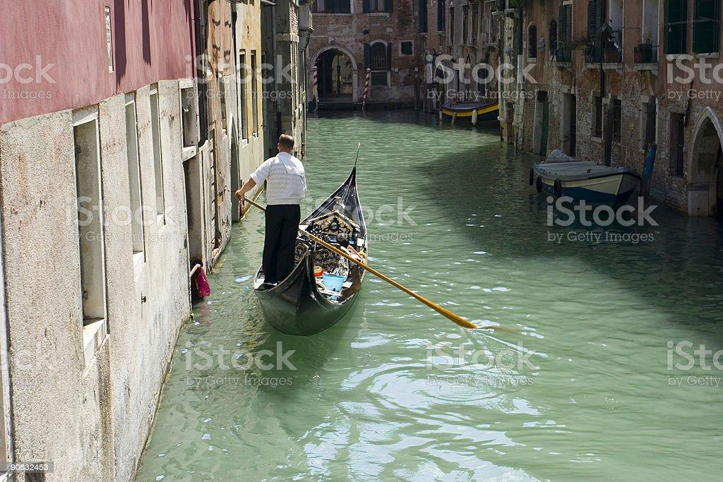 Gondola stock photo