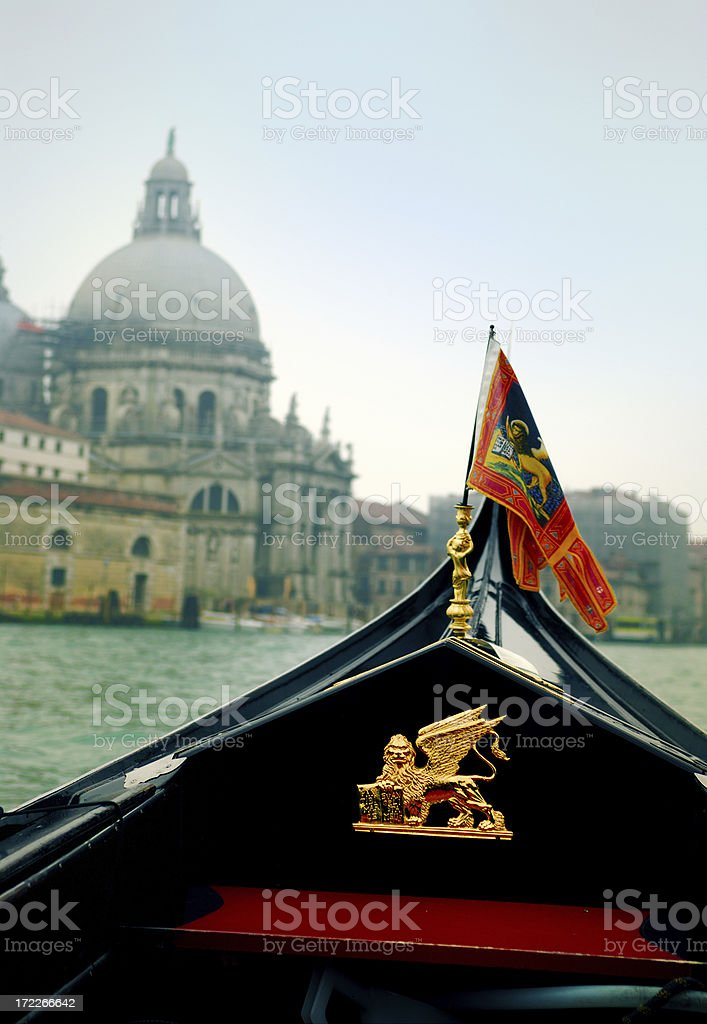 gondola prow royalty-free stock photo