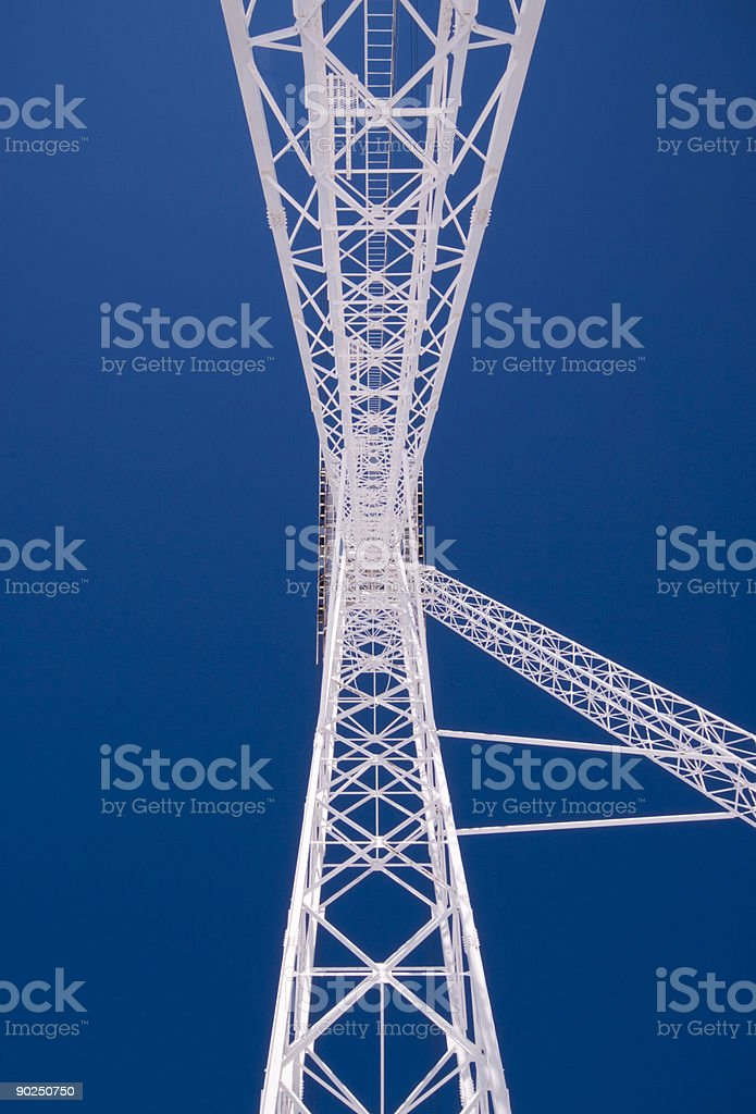 gondola pylon 3 royalty-free stock photo