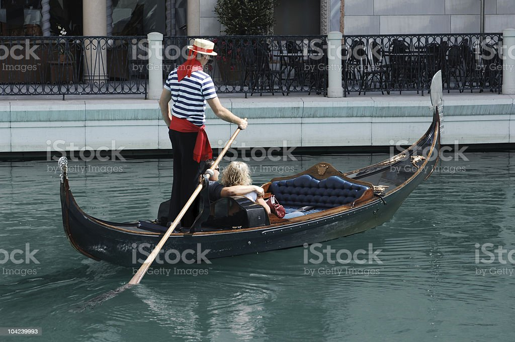 Gondola Ride royalty-free stock photo