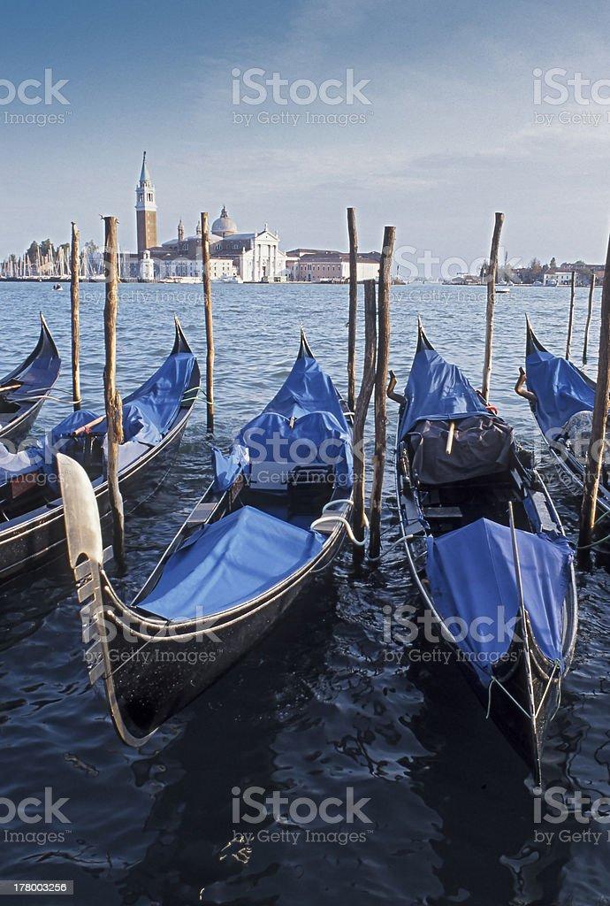 Gondola's royalty-free stock photo