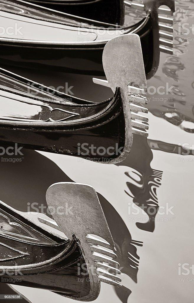 Gondolas royalty-free stock photo