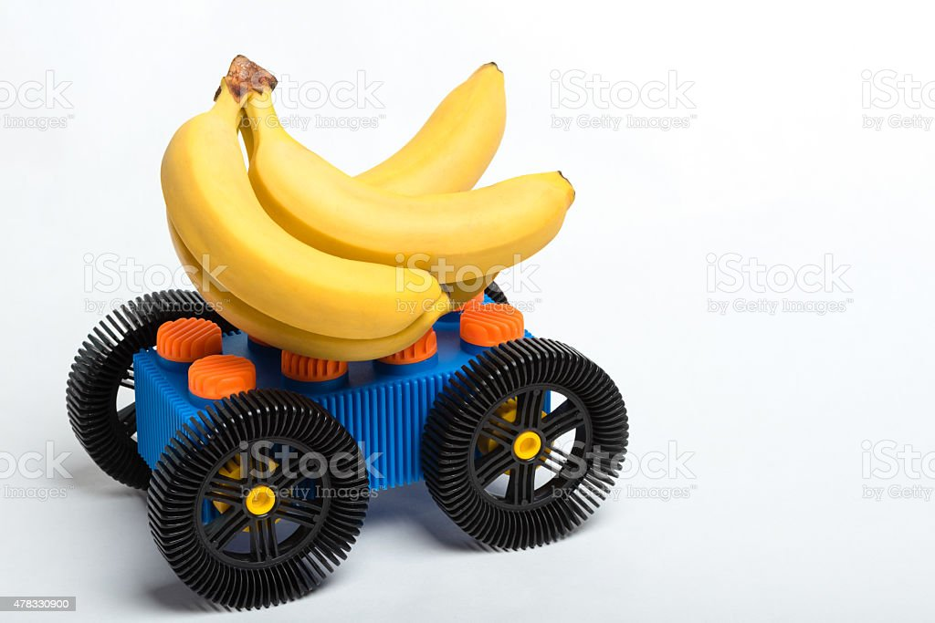 Gone Bananas stock photo
