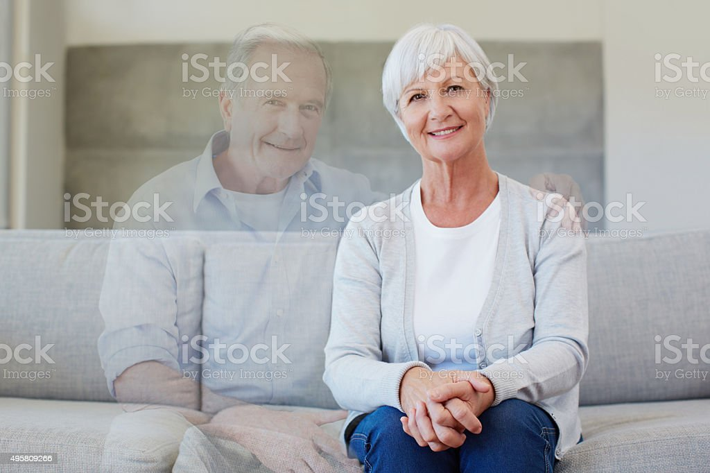 Gone but never forgotten stock photo