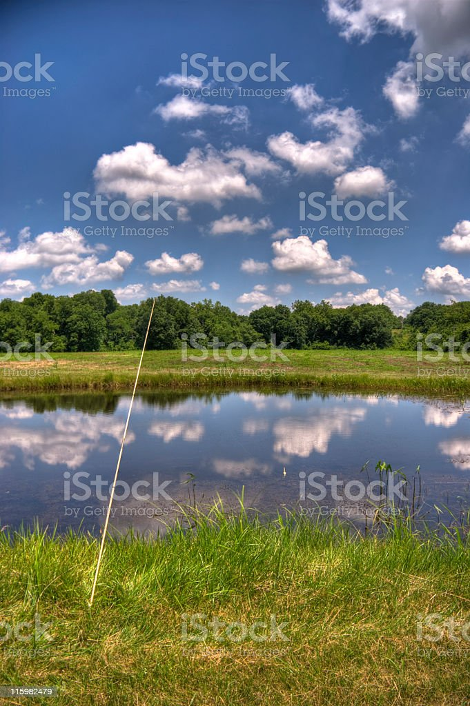 Gone Fishin' royalty-free stock photo
