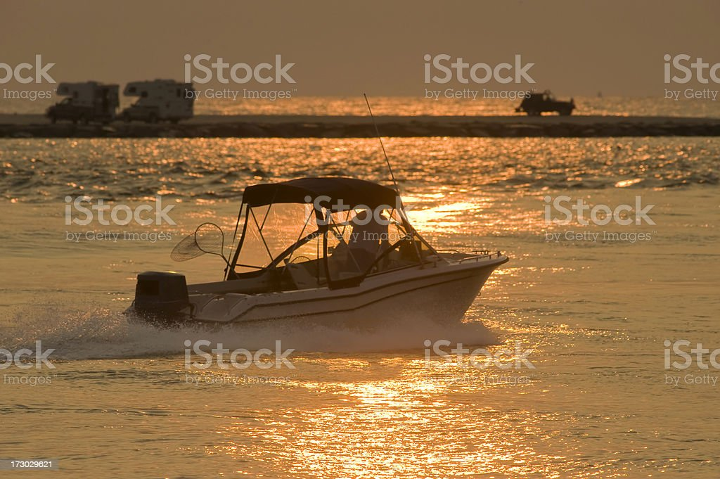 Gone Fishing! royalty-free stock photo