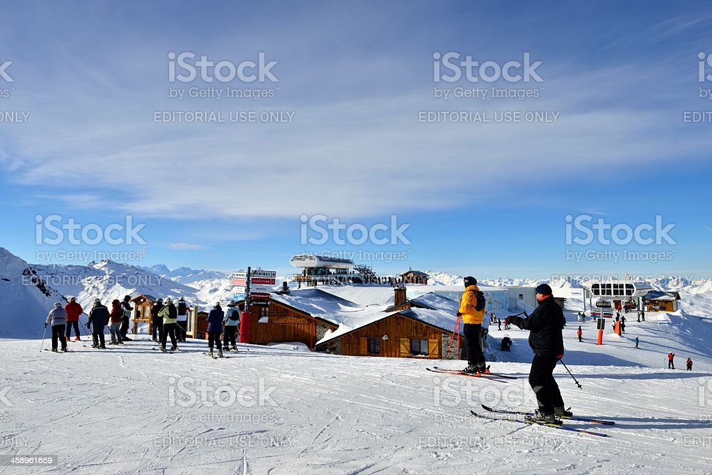Gone Skiing royalty-free stock photo