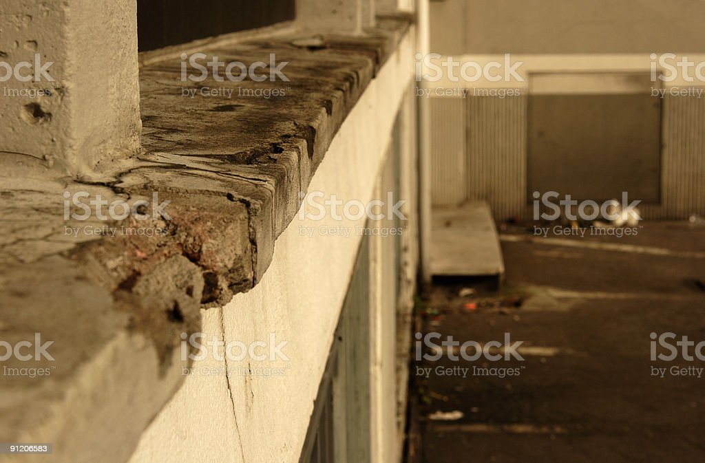 gone to rack royalty-free stock photo