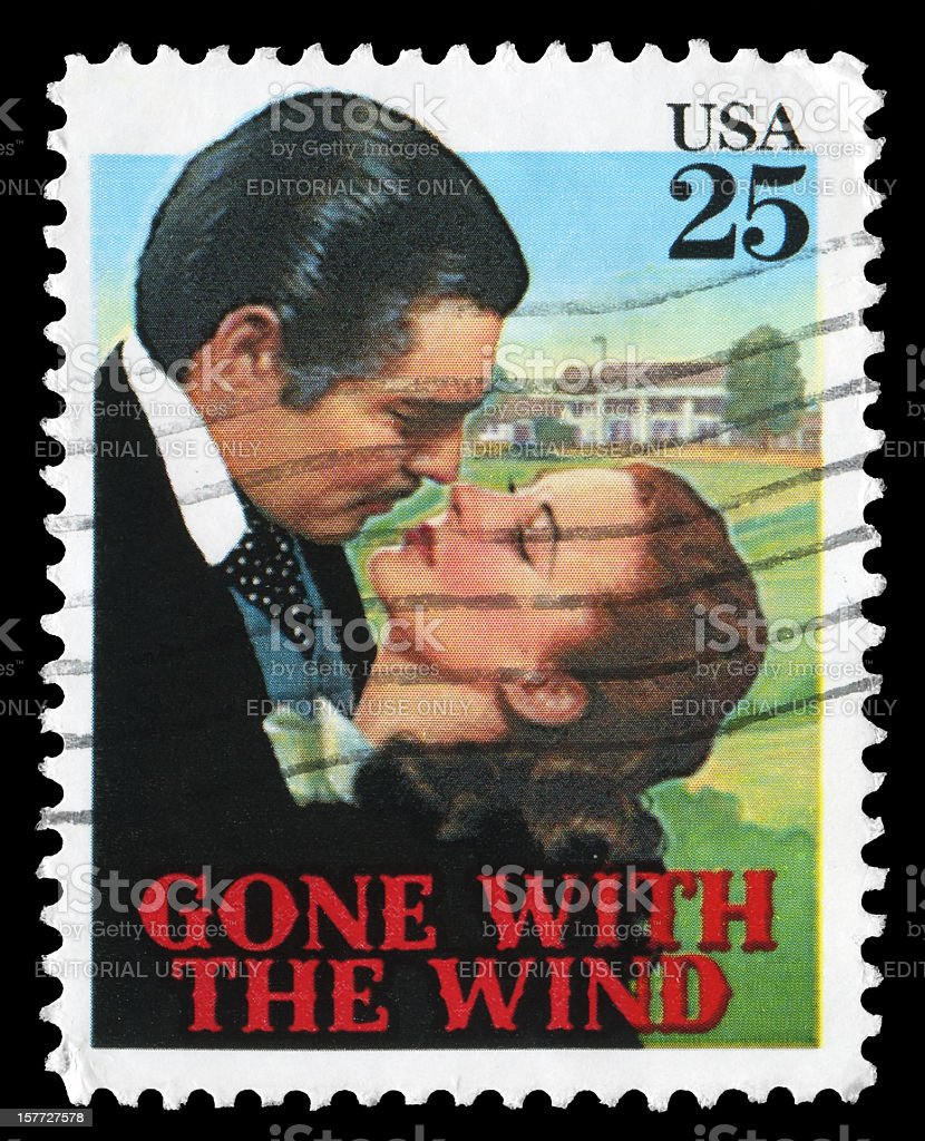 Gone with the Wind (XXL) stock photo