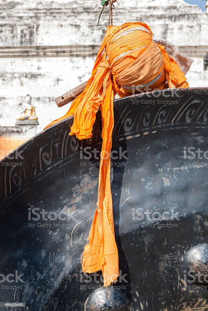Gong-stick royalty-free stock photo