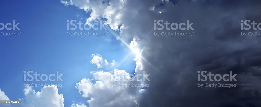 good and evil royalty-free stock photo