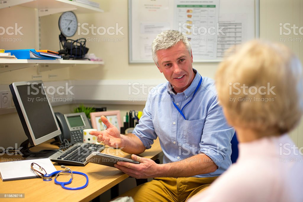 Good Bill of Health stock photo