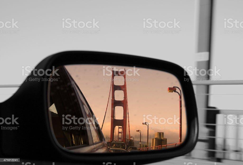 Au revoir à San Francisco photo libre de droits