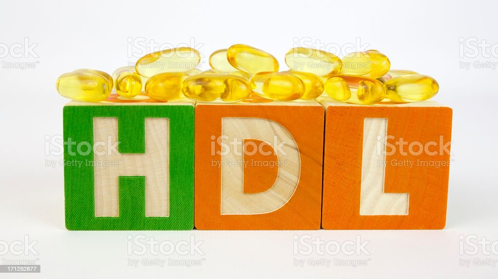 Good Cholesterol stock photo