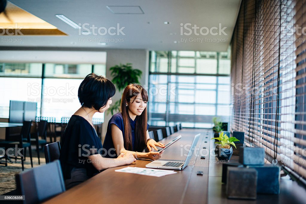 Good communication is key for successful business stock photo