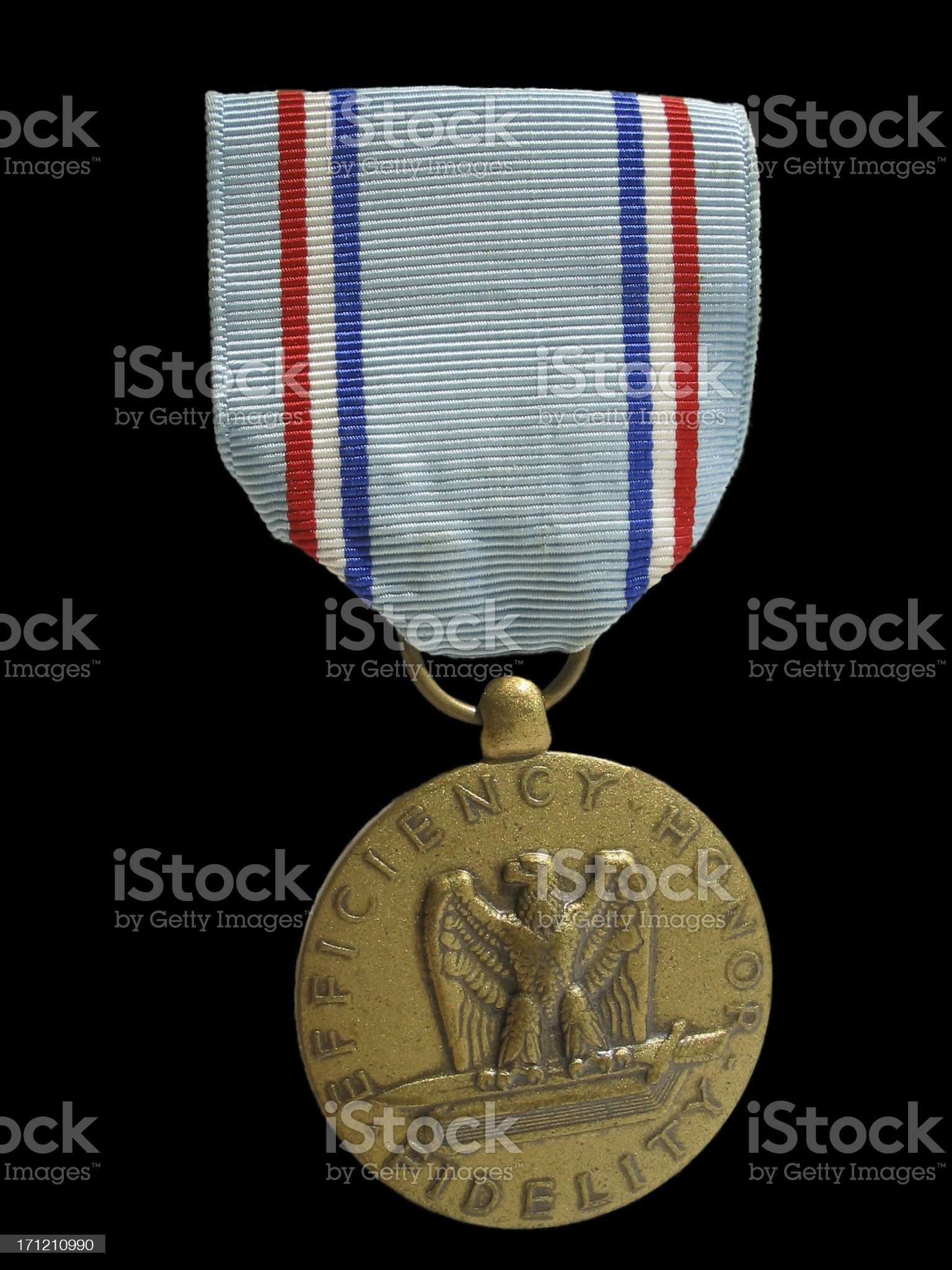 Good Conduct Medal royalty-free stock photo