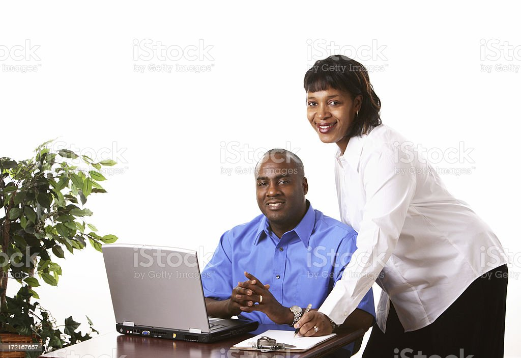 Good day at the office royalty-free stock photo