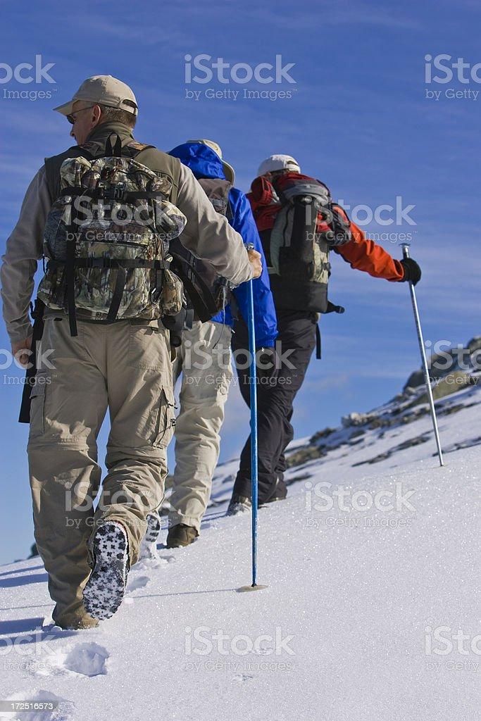 一日のハイキング ロイヤリティフリーストックフォト