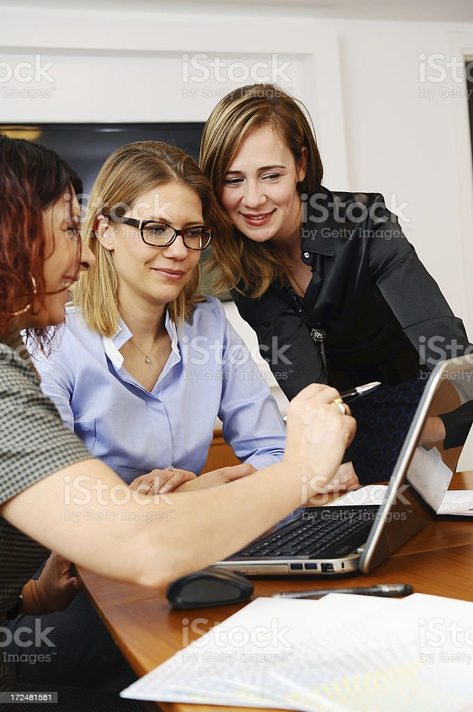 Good day in the office royalty-free stock photo