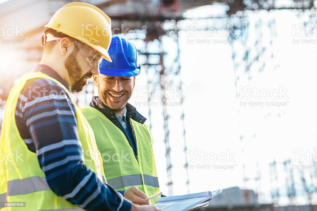 Good engineering team is guarantee to success. stock photo