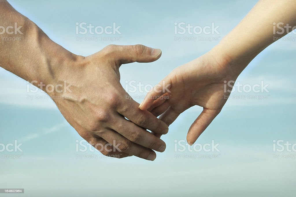 Good family, holding hands concept royalty-free stock photo