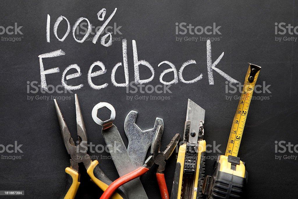 Good feedback royalty-free stock photo