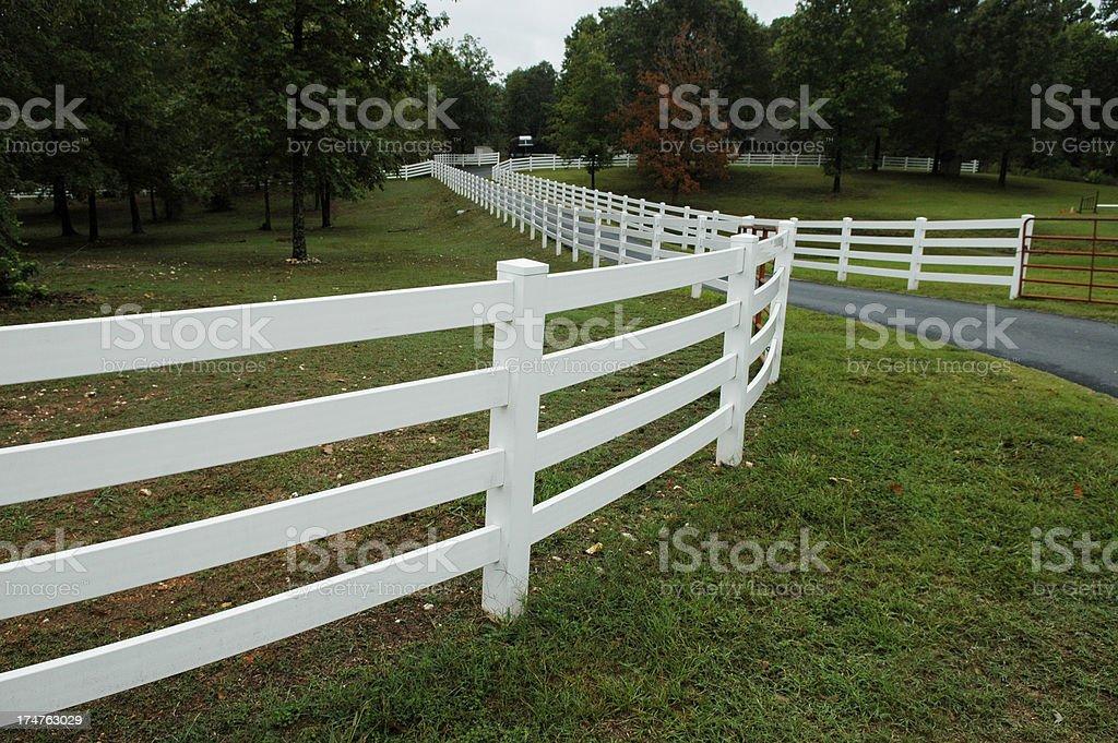 Good Fences Make Better Neighbors royalty-free stock photo