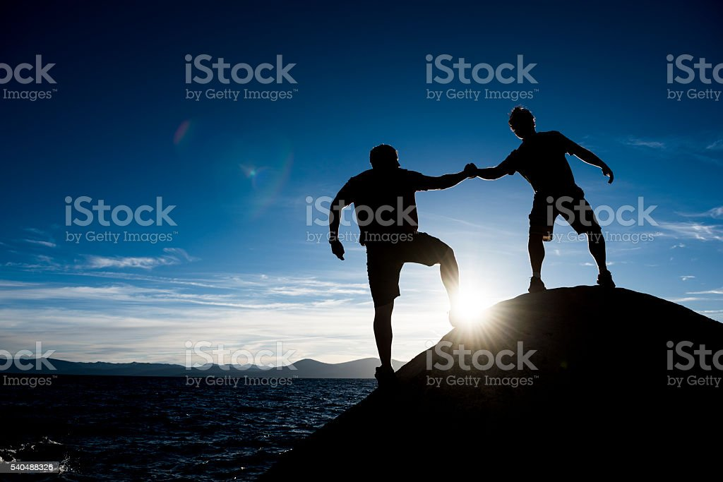 good friends stock photo