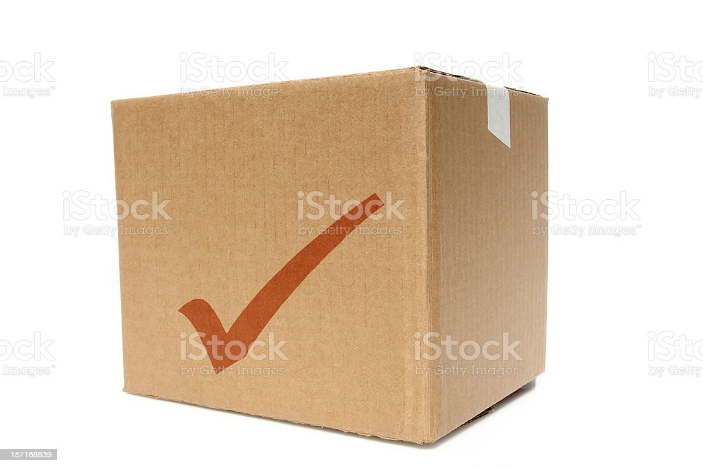 good gear, box ready for branding stock photo