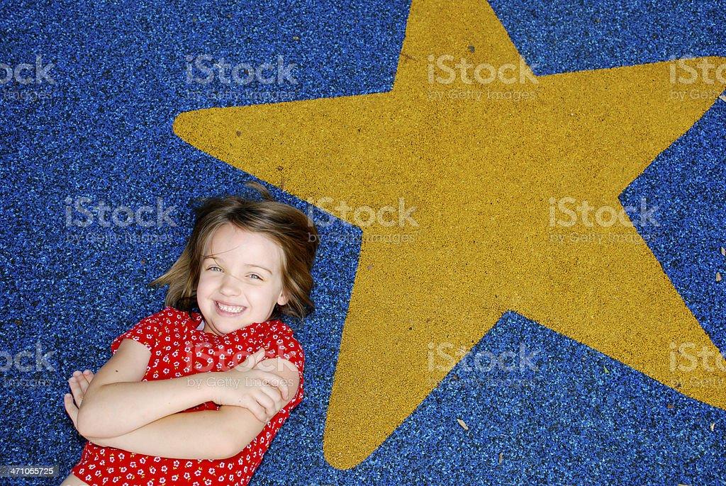 Good Girl Student stock photo