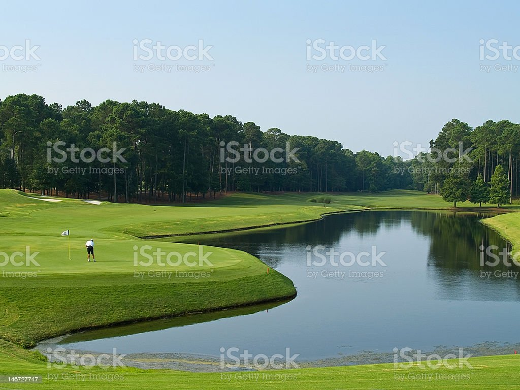 Good Golf Day stock photo