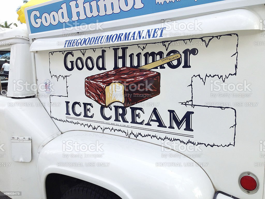 Good Humor Ice Cream Truck royalty-free stock photo
