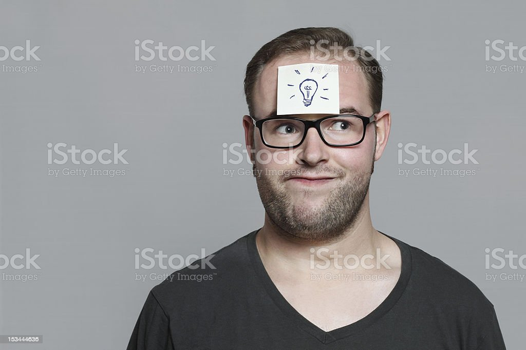 good idea royalty-free stock photo