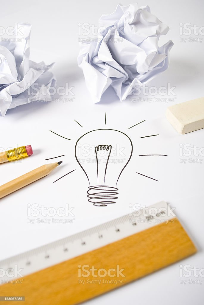 Good idea stock photo