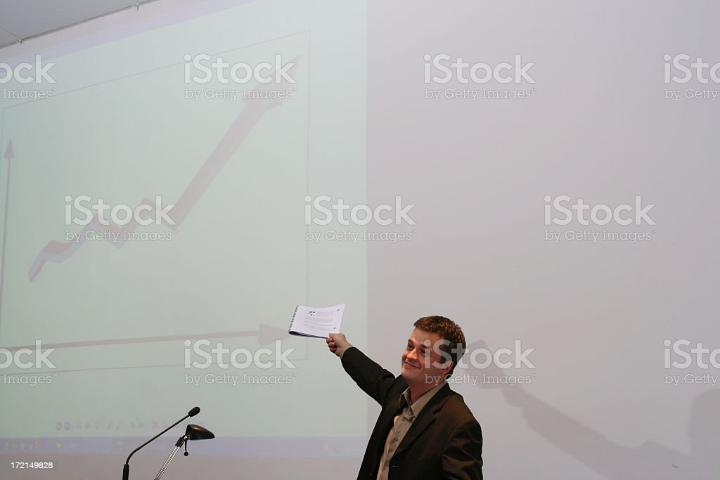 good job lecturer #1 royalty-free stock photo