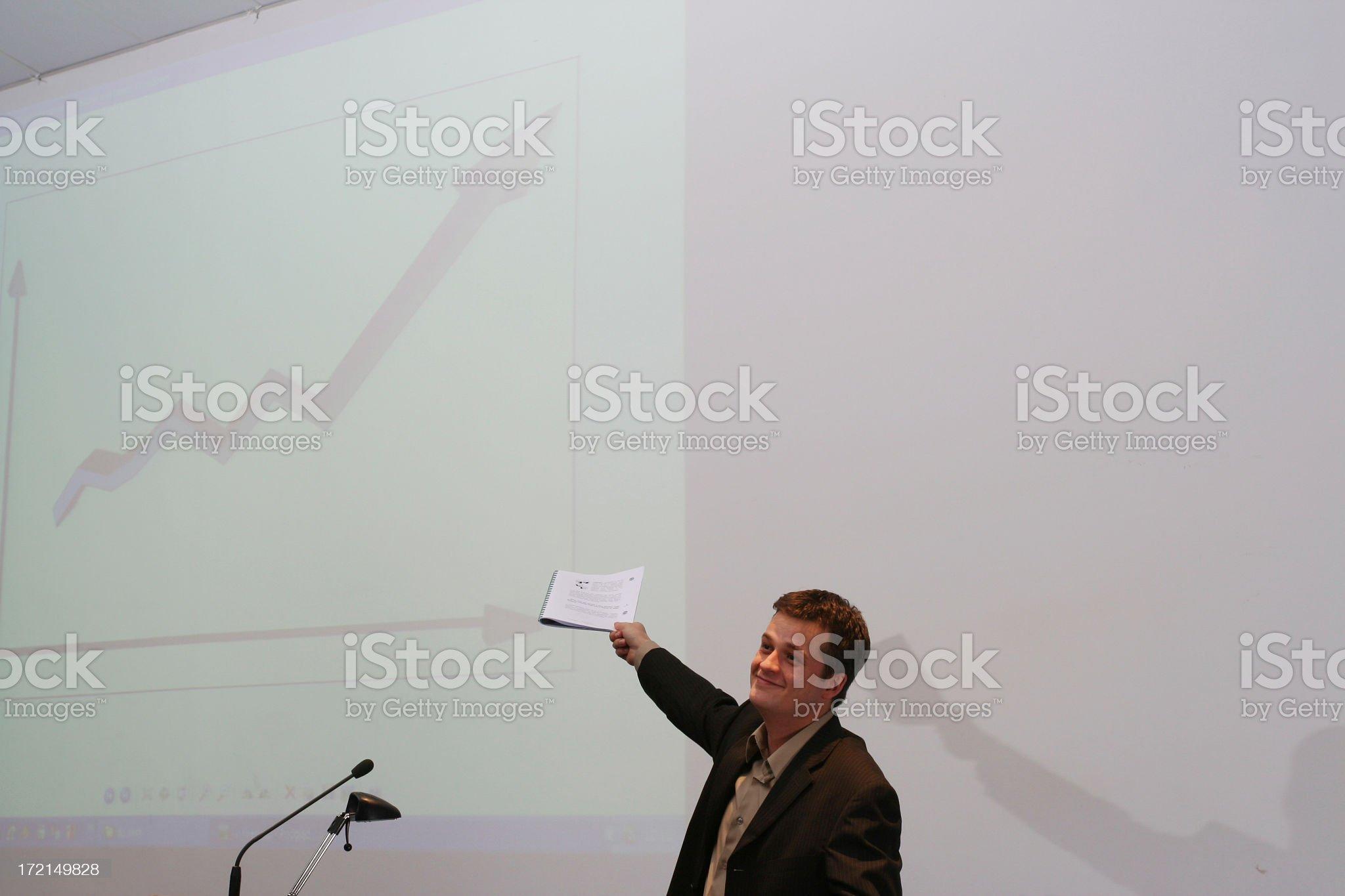 good job lecturer #1 royalty-free stock photo
