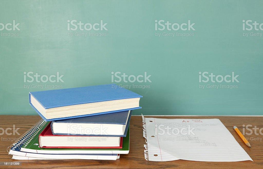 Good Job on Homework stock photo