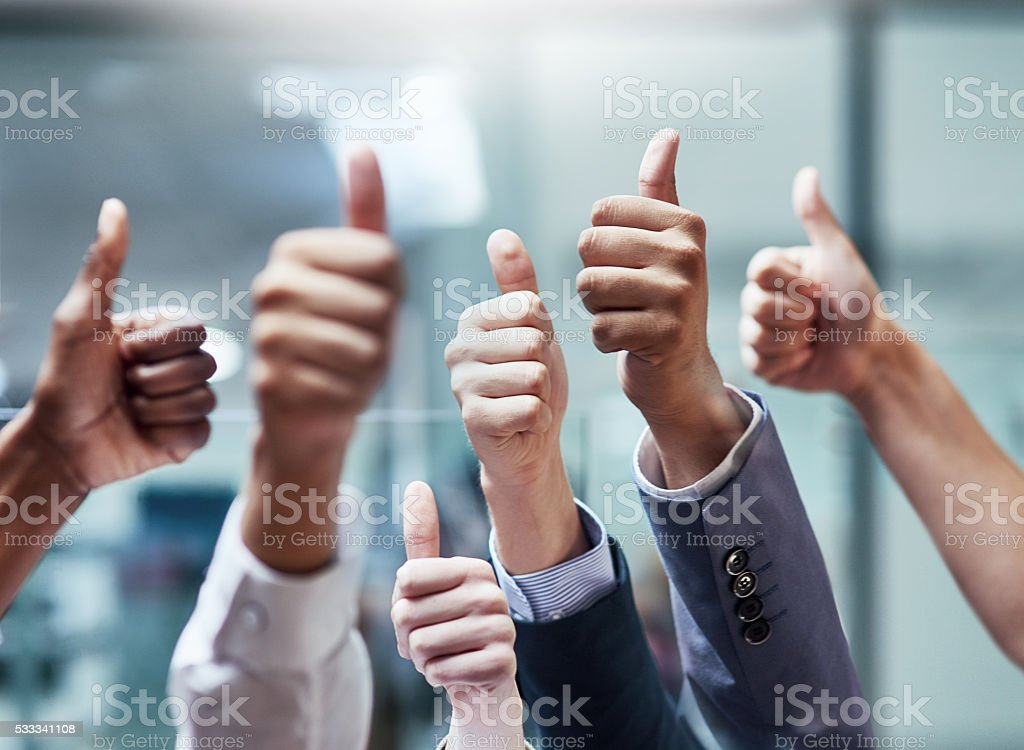 Good job! stock photo