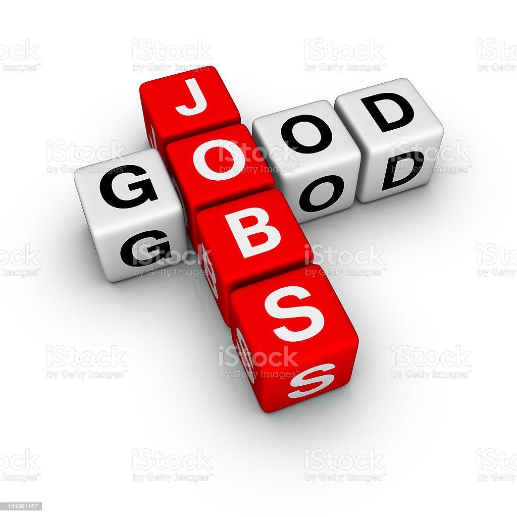 good jobs royalty-free stock photo