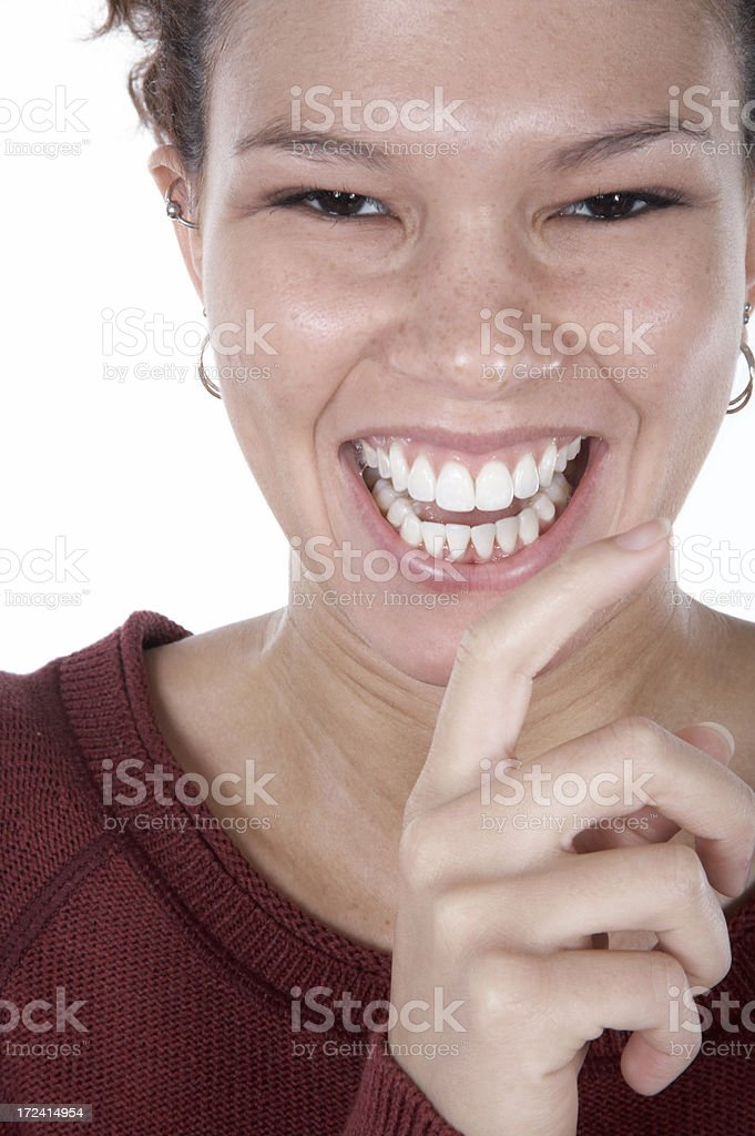 Good Laugh royalty-free stock photo