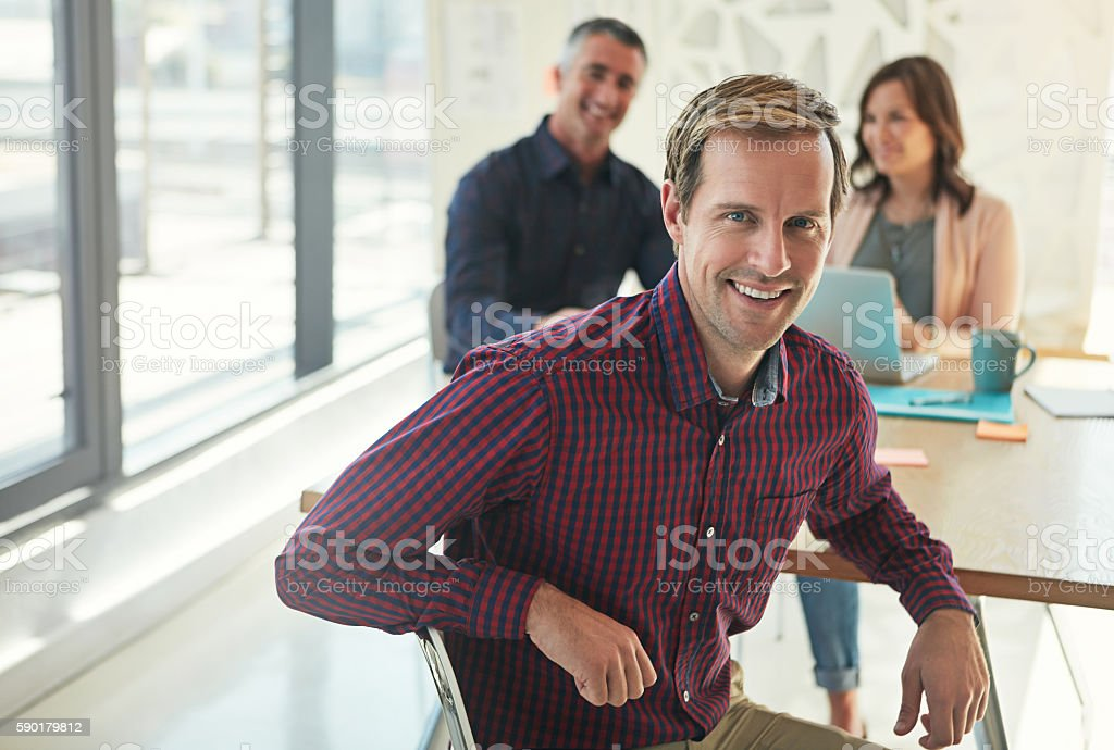 Good leaders don't just happen overnight, I should know stock photo