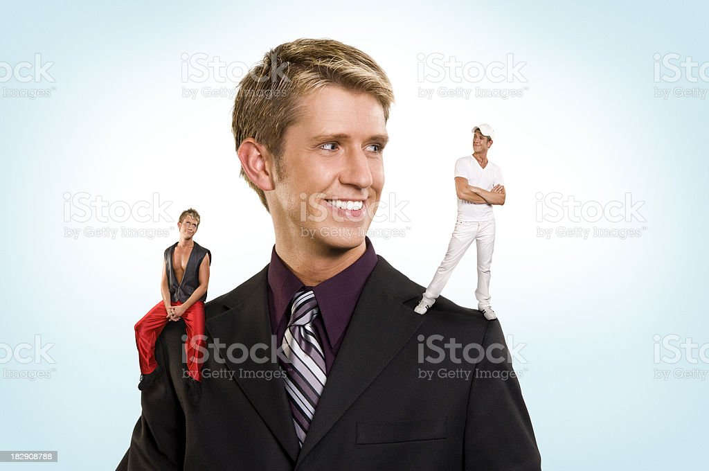 Good Listening stock photo