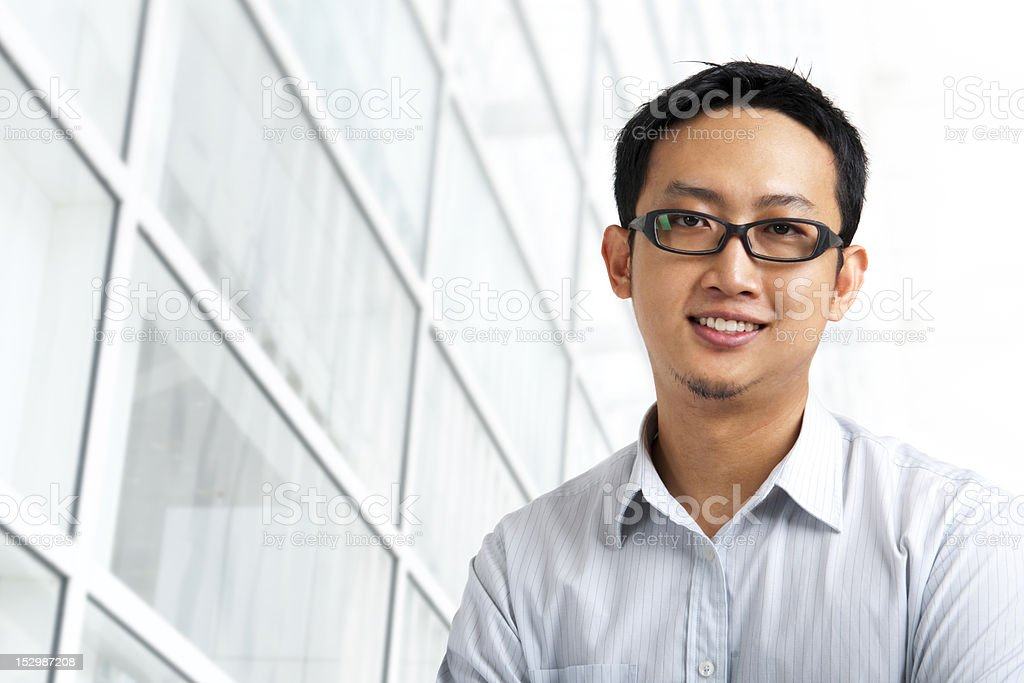 Good looking Asian royalty-free stock photo