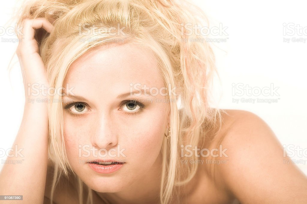 Good looking girl royalty-free stock photo