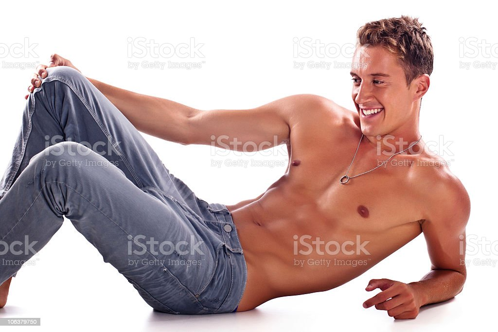 Good looking male royalty-free stock photo