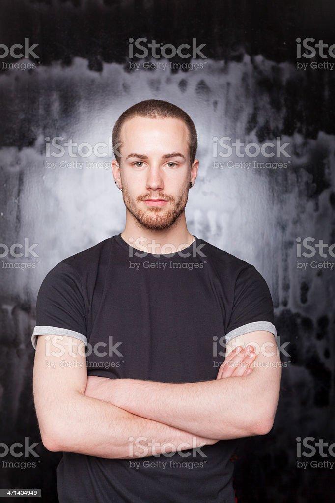Good Looking Man Portrait stock photo