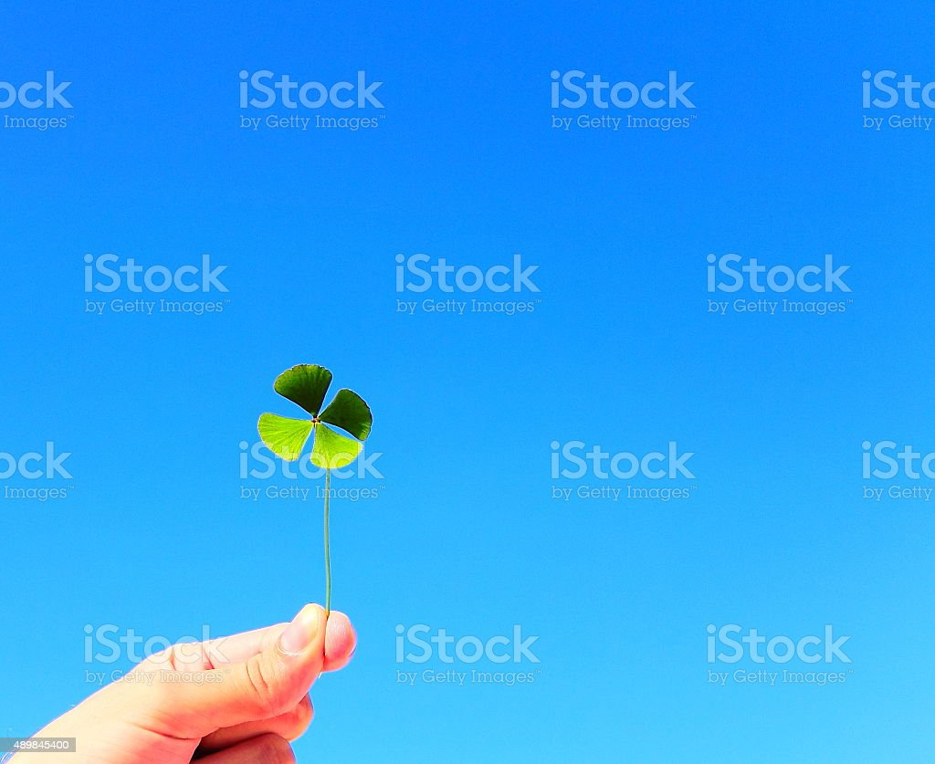 Good Luck! stock photo